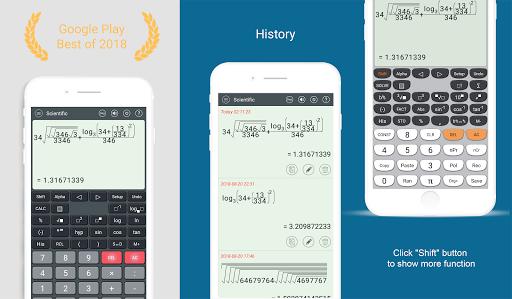 HiEdu Scientific Calculator : Fx-570vn Plus pc screenshot 1