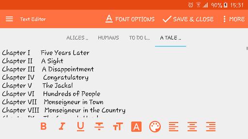 Text Editor pc screenshot 1