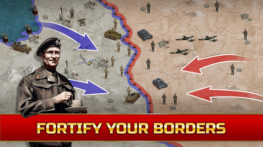 Call of War - WW2 Strategy Game pc screenshot 2