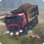 Truck Driver Operation Sand Transporter icon