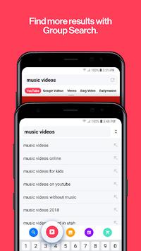 Cake Web Browser—Fast, Private, Ad blocker, Swipe pc screenshot 1