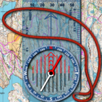 Orienteering Compass & Map icon