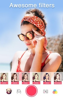 Sweet Selfie - selfie cam, beauty cam, photo edit pc screenshot 1