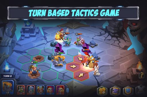 Tactical Monsters Rumble Arena -Tactics & Strategy pc screenshot 1