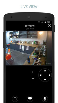 Cammy - Security Camera Alarm pc screenshot 1