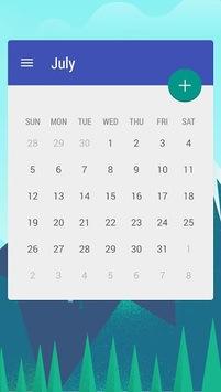 Calendar Widget: Month pc screenshot 2