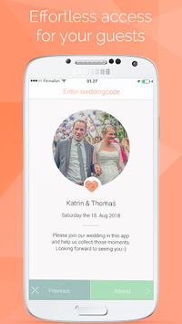 Wedding Photo App by Wedbox pc screenshot 1