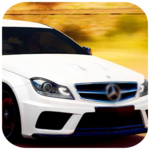 City Car Mercedes Driving icon