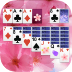 Solitaire Pink Blossom for pc logo