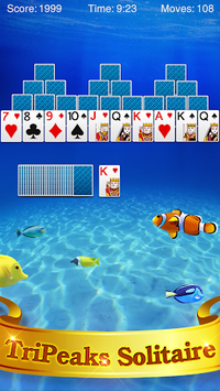 TriPeaks Solitaire pc screenshot 1