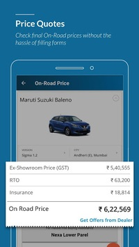 CarWale - New cars & used cars prices in India pc screenshot 2