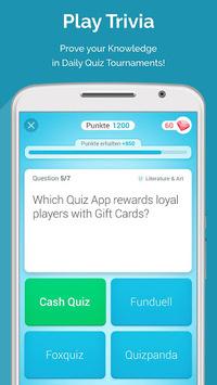 QUIZ REWARDS: Trivia Game, Free Gift Cards Voucher pc screenshot 1