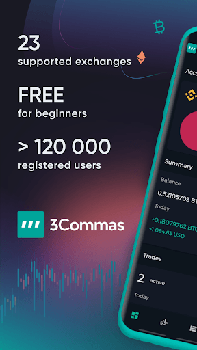 3Commas: Manual Trading & Crypto Trading Bots pc screenshot 1