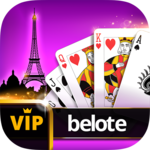 VIP Belote - French Belote Online Multiplayer icon