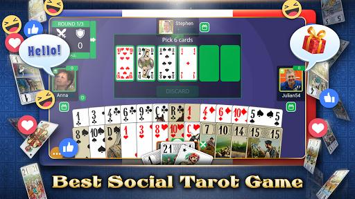 VIP Tarot - Free French Tarot Online Card Game pc screenshot 1