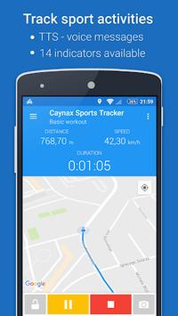 GPS Sports Tracker App: running, walking, cycling pc screenshot 1