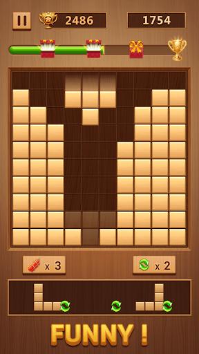 Wood Block - Classic Block Puzzle Game PC screenshot 2