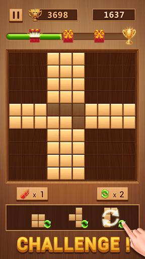 Wood Block - Classic Block Puzzle Game PC screenshot 3