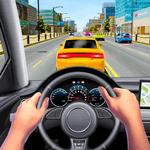 Highway Car Driving Sim: Traffic Racing Car Games for pc logo