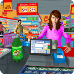 Supermarket Grocery Shopping Mall Family Game for pc logo