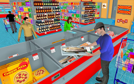 Supermarket Grocery Shopping Mall Family Game pc screenshot 1