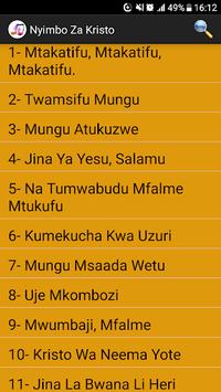 Nyimbo Za Kristo pc screenshot 2
