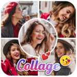 Photo Collage Maker - Pic Editor & Photo Grid icon