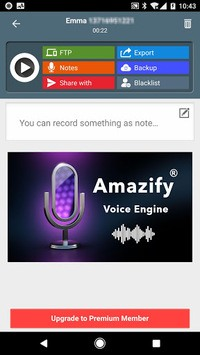 Call Recorder ACR: Record voice clearly, Backup pc screenshot 1