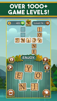 Word Nut: Word Puzzle Games & Crosswords pc screenshot 1