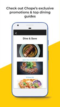 Chope Restaurant Reservations pc screenshot 1