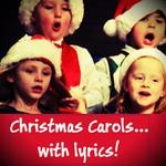 Christmas Carols and songs with lyrics, in english icon