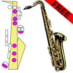 Saxophone Fingering Chart icon