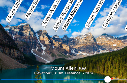 AR Mountains Map  -- 400000 peaks in the world -- pc screenshot 1