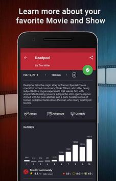 CineTrak: Your Movie and TV Show Diary pc screenshot 1