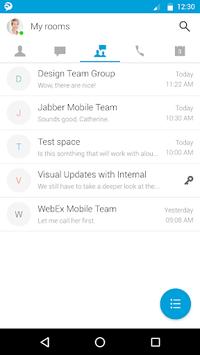Cisco Jabber pc screenshot 1