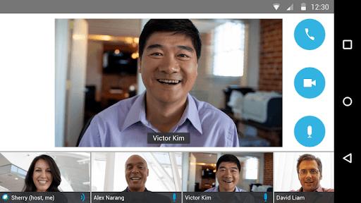 Cisco Webex Meetings pc screenshot 1