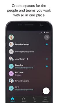 Cisco Webex Teams pc screenshot 2