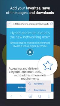 Citrix Secure Web pc screenshot 1