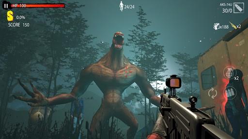 Zombie Shooting Game: Zombie Hunter D-Day PC screenshot 1