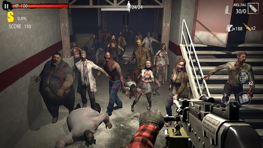 Zombie Shooting Game: Zombie Hunter D-Day PC screenshot 2