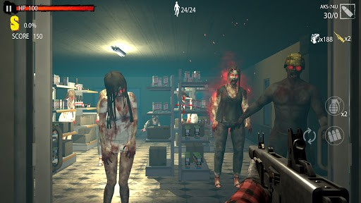 Zombie Shooting Game: Zombie Hunter D-Day PC screenshot 3