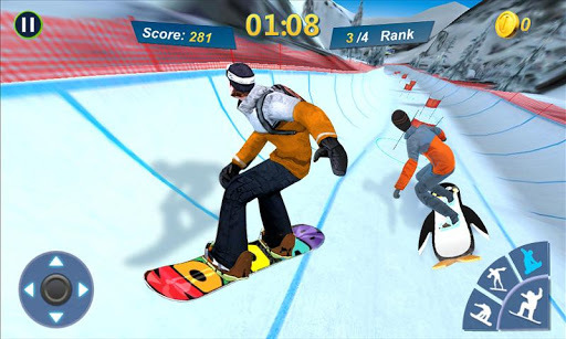 Snowboard Master 3D PC screenshot 1
