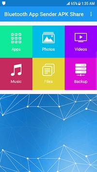 Bluetooth App Sender APK Share pc screenshot 1