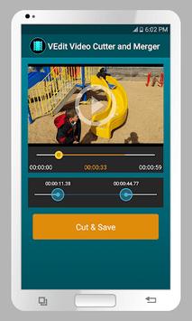 VEdit Video Cutter and Merger pc screenshot 1