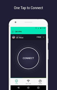 CM Security Open VPN - Free, fast unlimited proxy PC screenshot 3