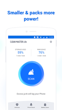 Clean Master Lite - For Low-End Phones pc screenshot 1
