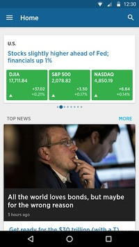 CNBC: Breaking Business News & Live Market Data pc screenshot 1