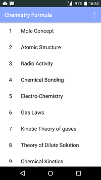 Chemistry Formula pc screenshot 1