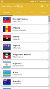 Offline world map 2018 - world atlas pc screenshot 1
