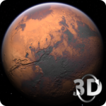 Mars in HD Gyro 3D Free for pc logo